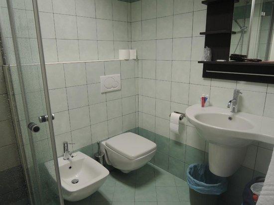 Hotel Ristorante Croce Bianca: Il bagno