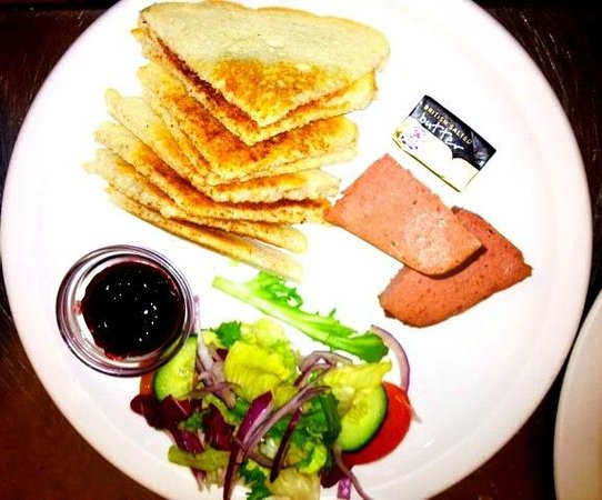 The Oasis Restaurant: Brussels Pate