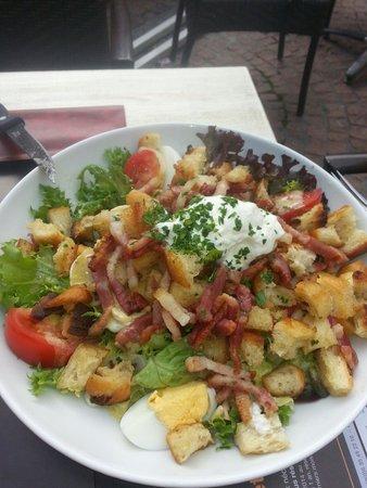 Le Bailly: Salade alsacienne