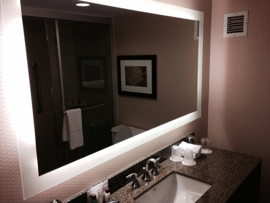 Sheraton Stamford Hotel: Awesome bathroom