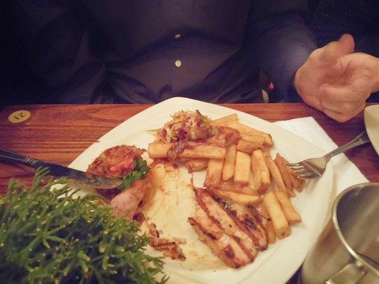 The White Horse: comida tipica