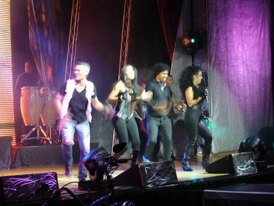 غران هوتيل ايباروستار بافارو: Rock show