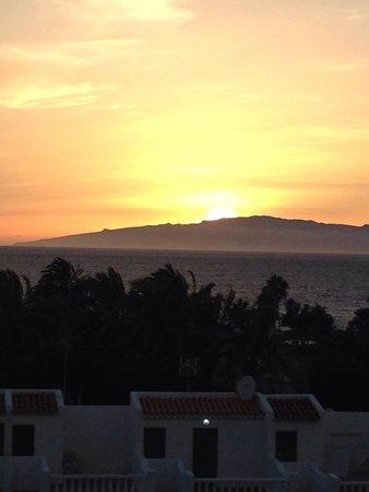 Aparthotel Club Bonanza: View from our balcony