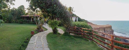 Hotel Ponta do Madeiro: Acessos à escadaria