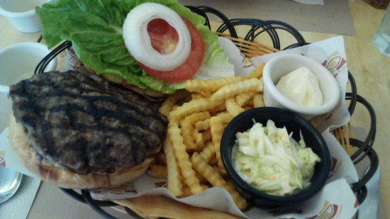 Tilapia 'N Chips: Burger
