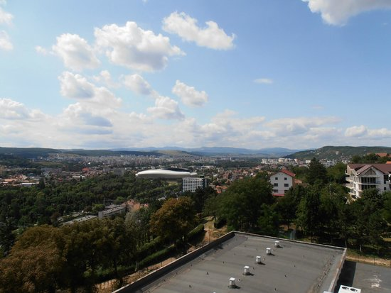 Hotel Belvedere: The stadium