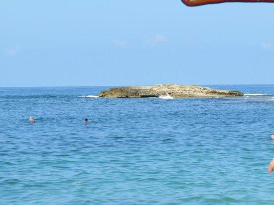 Spiaggia di Is Arutas: Magnifico mare.