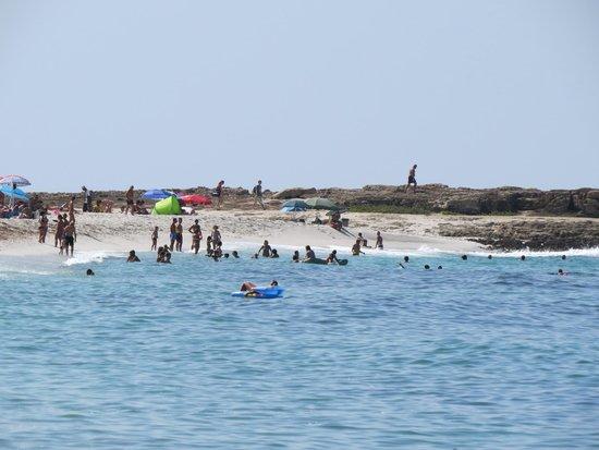 Spiaggia di Is Arutas: La spiaggia nel suo insieme.