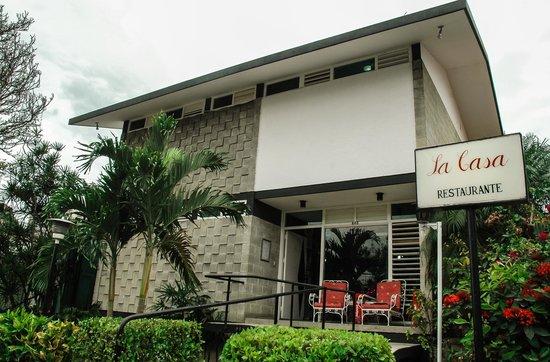 Restaurante La Casa: exteriores