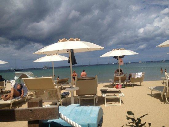 هوتل ديل جولفو: prachtig strand van hotel del golfo