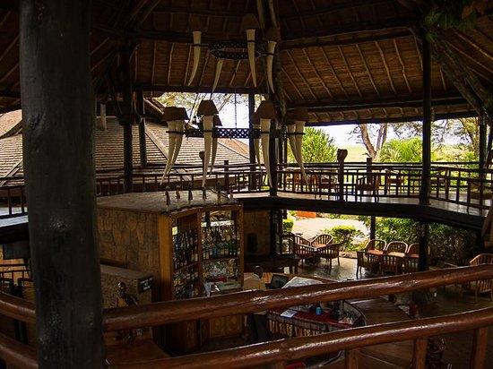Ol Tukai Lodge: Bar area 2
