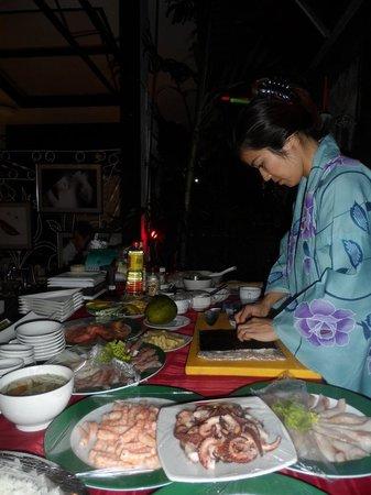 Restaurant La Casa: Noches de Suhi