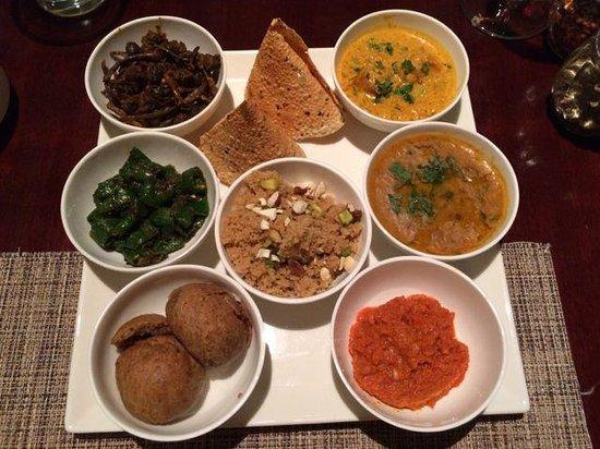 Jaipur Marriott Hotel: Rajasthani thali meals-by chef runjeet