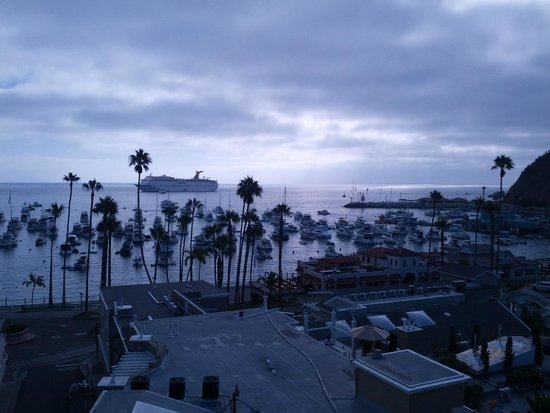 The Avalon Hotel : View From Roof Top
