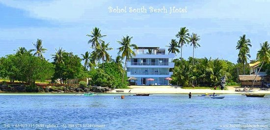 Bohol South Beach Hotel: Beachfront - Deluxe Oceanview rooms