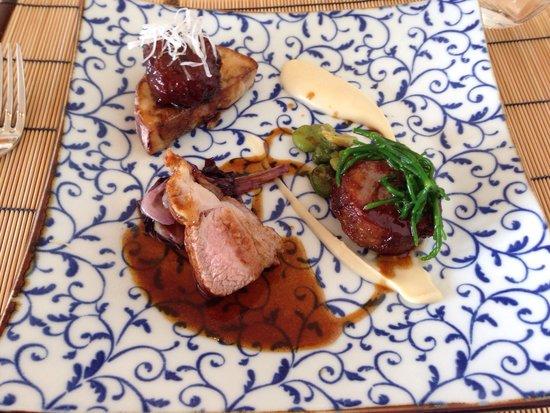 La Table de Breizh Cafe (étoilé): Viande de veau