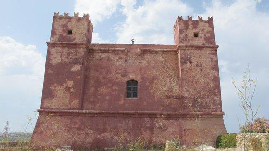St Agatha's Tower : Parte de traz da torre