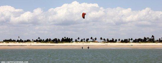 Castelo Vendom: beach, plage, praia, kite surf