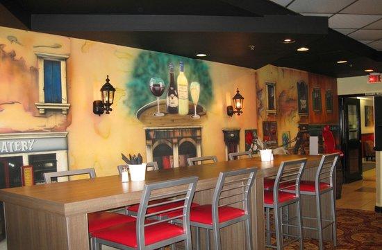كواليتي هوتل مونتريال إيست: Graffiti's Italian Restaurant