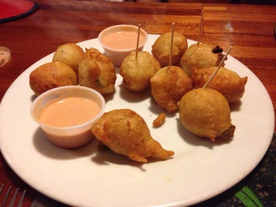 Oh Andros: Conch fritters