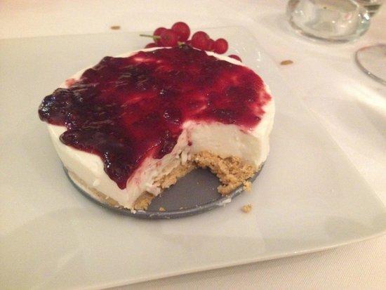 Casa Virtude: chease cake de frutos vermelhos, a melhor