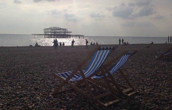 Sea Spray Boutique Hotel: Brighton sea Front