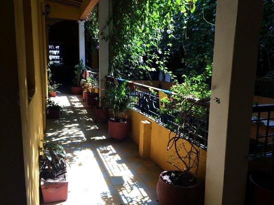 La Brisa Loca Hostel: Corredor do Hostel