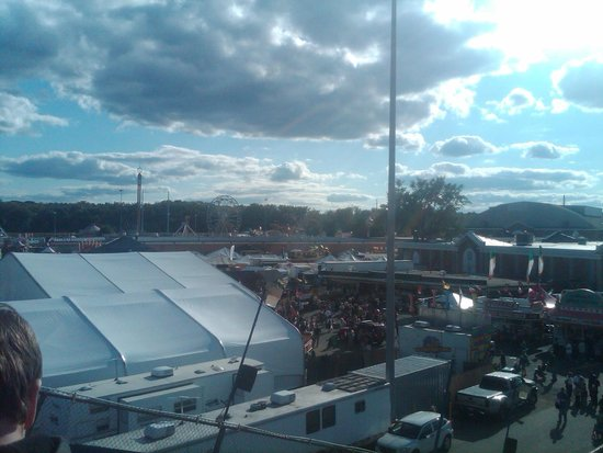 The Big E: View from the Big Yellow Slide
