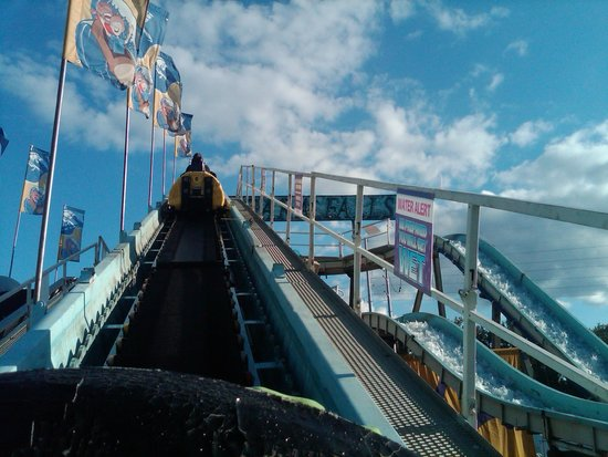 The Big E: Going up the Log Ride