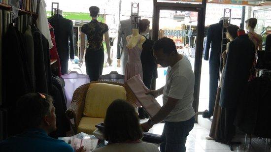 V-Versace Tailor: v- versace   customer