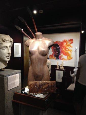 Musee d'Art Classique de Mougins: Chocolate Aphrodite