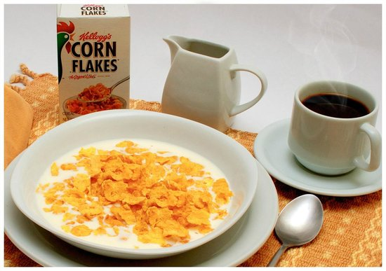 Hostal Villa Toscana: Desayuno cereal