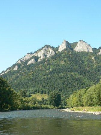 Rafting on Dunajec river: Dunagec River view