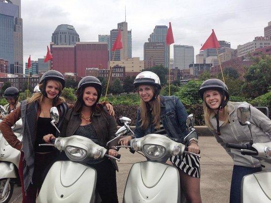 Nashville Scooter Tours: last stop!