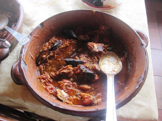 Da Gisella : zuppa quasi alla fine