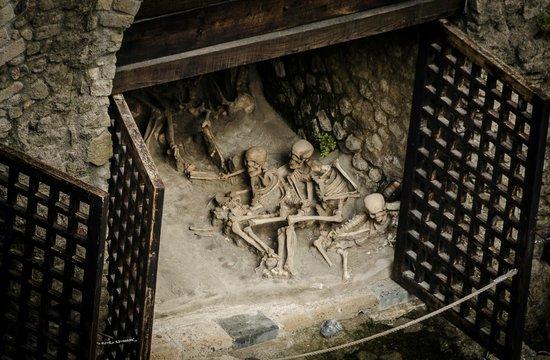 Parco Acheologico di Ercolano: Herculaneum boathouses