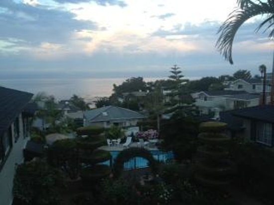 Laguna Beach Motor Inn: View from the balcony of room 27