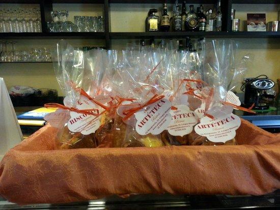 Artéteca Bistrot: Biscotti artigianali.