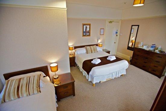 St. Ola Hotel: Superior family room.