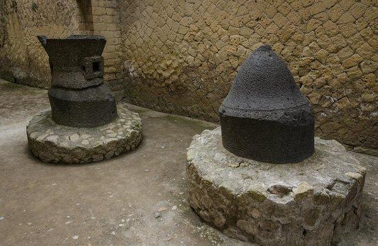 Parco Acheologico di Ercolano: baker