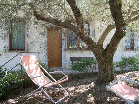 Le Poiane B&B: Spazio esterno antistante l'appartamento