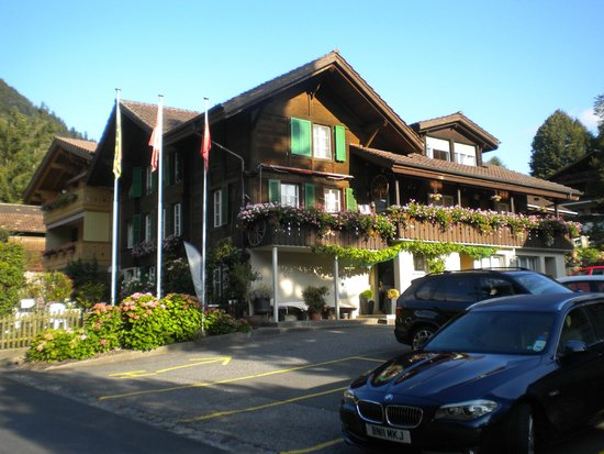 Hotel-Restaurant Alpenblick: Annexe with rooms with a view