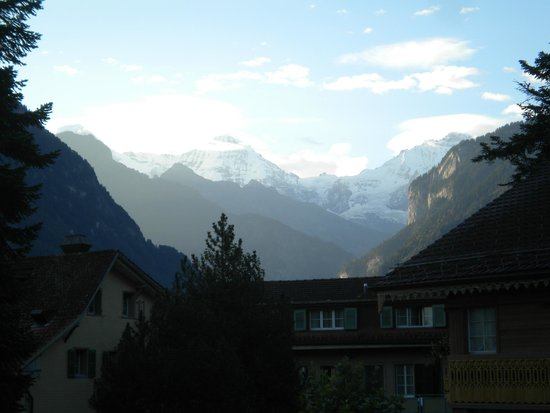 Hotel-Restaurant Alpenblick: Eiger, Munch and Jungfrau from our balcony