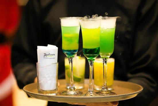 Origens, Restaurante Do Hotel Radisson: Drink para evento exclusivo