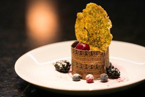 Origens, Restaurante Do Hotel Radisson: Sobremesa para evento exclusivo