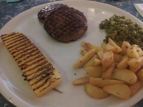 Trattoria AL CASTELLON: hamburger di angus...