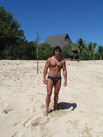 InterContinental Fiji Golf Resort & Spa: Пляж.