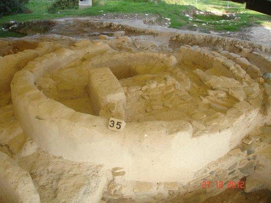 Kalavasos-Tenta Neolithic Archaeological Site: HOUSE