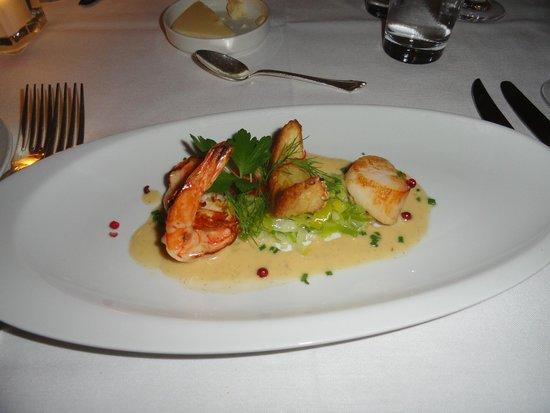 Bonaparte: The Vanilla Shrimp was excellent.