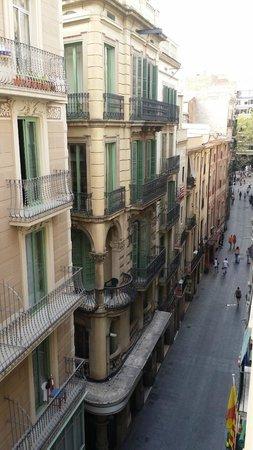 Hotel Cortes: vista do quarto